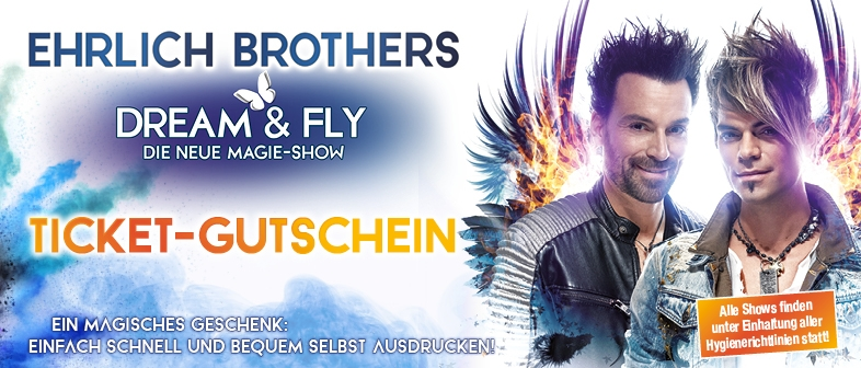 EHRLICH BROTHERS - GUTSCHEIN