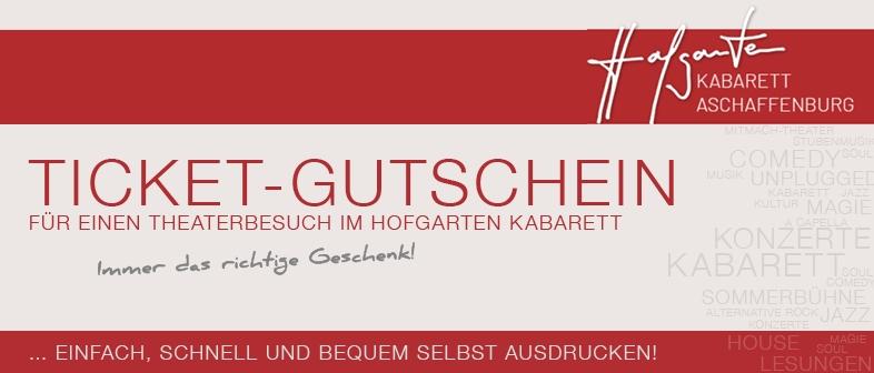 HOFGARTEN KABARETT - GUTSCHEIN