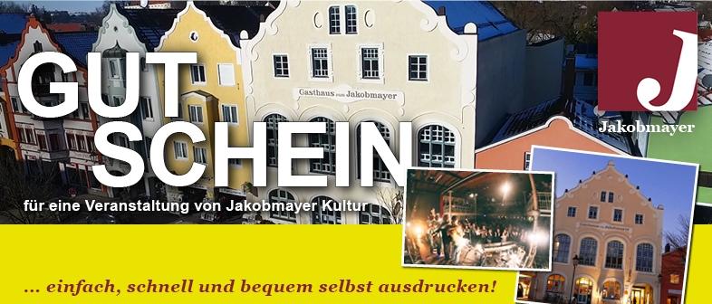 Jakobmayer Kultur - Gutschein
